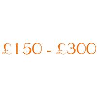 £150-£300