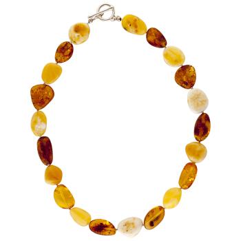 Pebble Shape Necklace