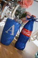 Diamante Drinkster and a Splash of Coca Cola