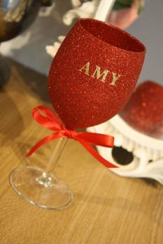 """Name It"" Standard Wine Glass"