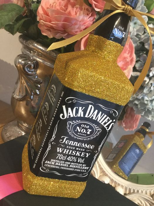 Glittered Jack Daniels
