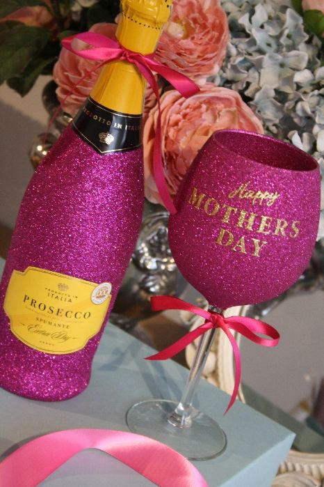 Personalised Wine, Champagne, Prosecco or Cava and Glass