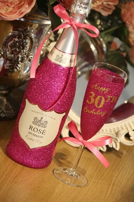 Glitter Prosecco Wine Champagne Glasses And Personalised Gifts The Glitter Emporium As