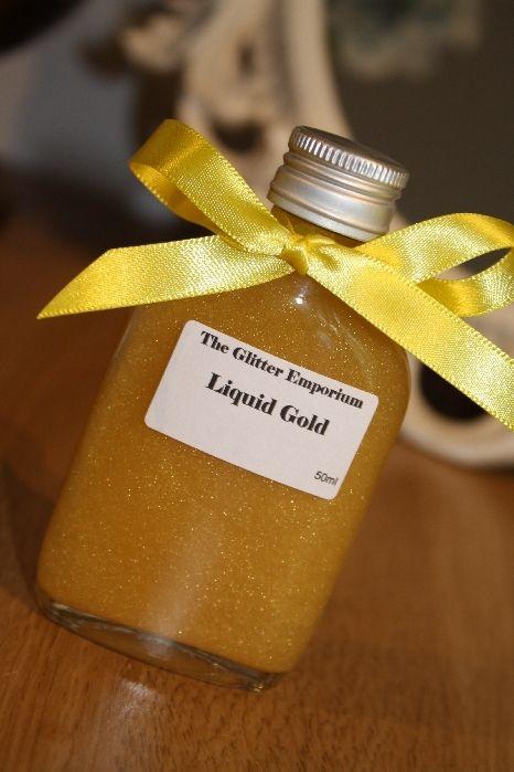Liquid Gold Glitter Potion (Banana Flavour)