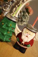 Glittered Mason Jar