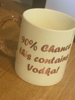 The 90% Vodka Mug