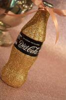 Glittered Coca Cola