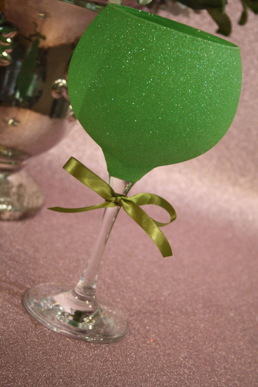 Glittered Gin Balloon