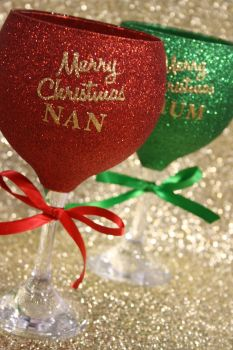 Personalised Merry Christmas Gin Balloon