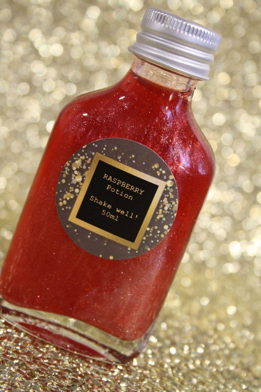 Raspberry Glitter Potion