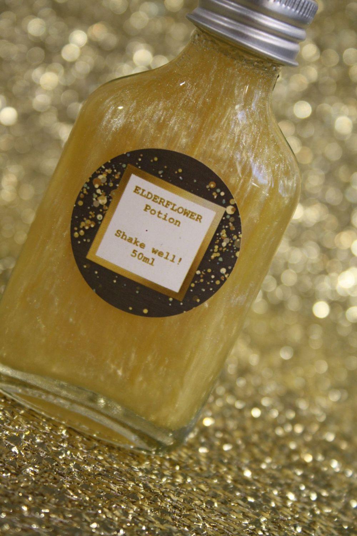 Elderflower Glitter Potion