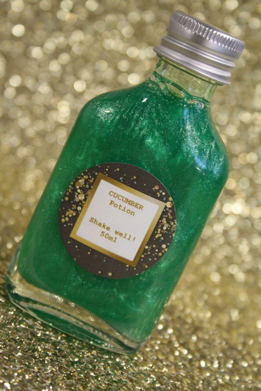 Cucumber Glitter Potion