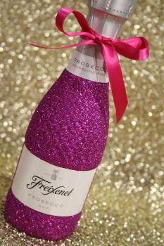 Glittery Mini Wine