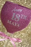 Personalised Glittered Gin Balloon