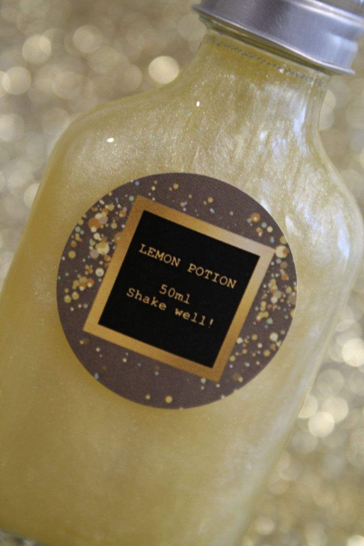 Lemon Glitter Potion