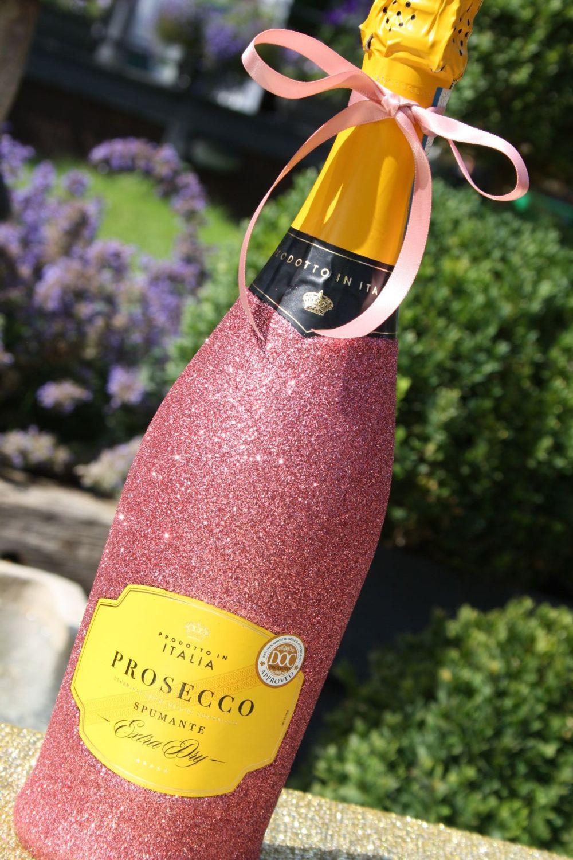 Glittery Wine, Champagne, Prosecco or Cava