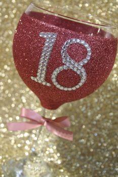 Diamante DOUBLE Dazzler Gin Balloon
