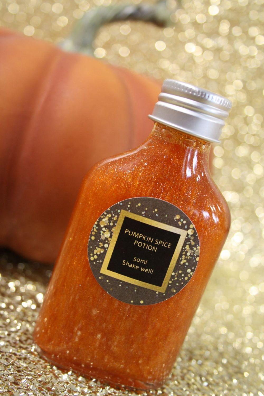 Pumpkin Spice Glitter Potion