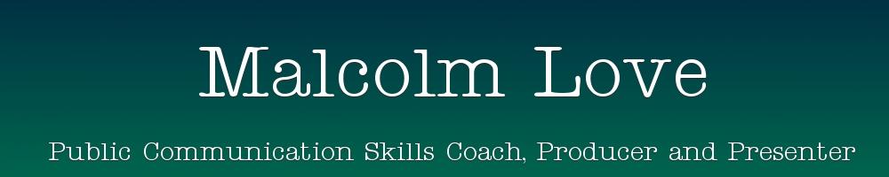 Malcolm Love, site logo.