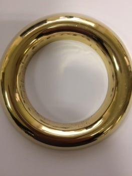 Large Brass Lamp Rings x 10 *DISCONTINUED*