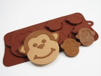 Cheeky Monkey Silicone Mould