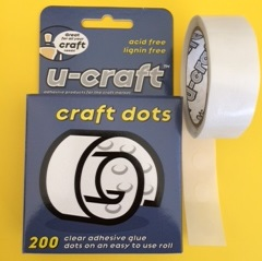 Glue Dots 10mm x 200 *DISCONTINUED*
