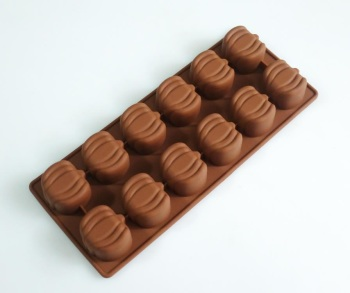 Pumpkins Silicone Mould 12 cavity