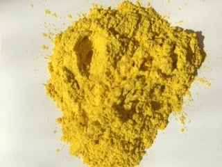 Mica Dark Yellow 50g *DISCONTINUED*