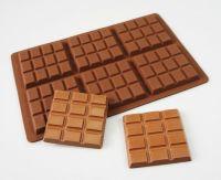 Chocolate Bar 6 Slab Silicone Mould