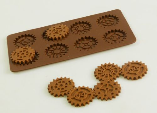 Steampunk Gears Silicone Mould