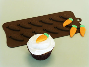 Carrots Silicone Mould