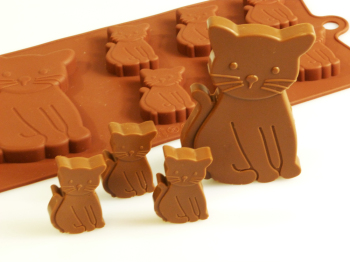 Cats Silicone Mould