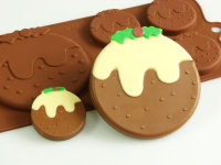 Christmas Pudding Silicone Mould