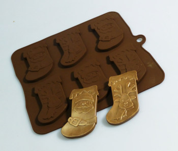 Christmas Stockings Silicone Mould