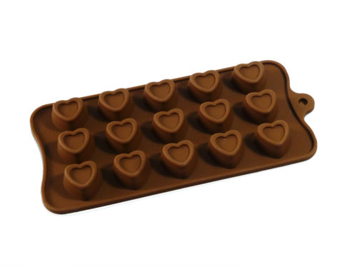 Indented Hearts Silicone Mould