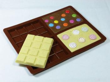Medium Chocolate Bar Silicone Mould