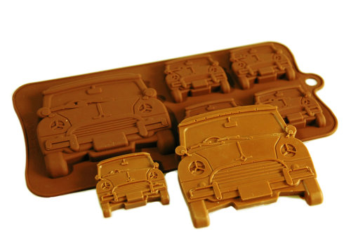 Mini Car Silicone Mould