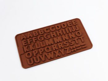 Mini Letters Silicone Mould