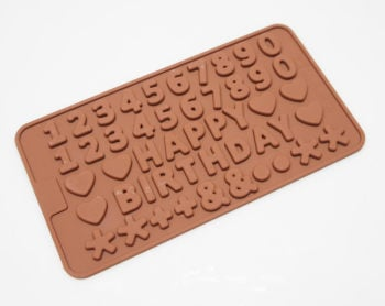 Mini Numbers Silicone Mould