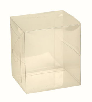 10 Clear Acetate Votive Boxes
