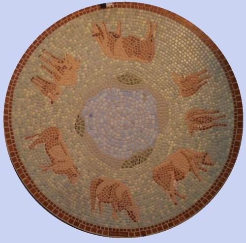Cow Mosaic