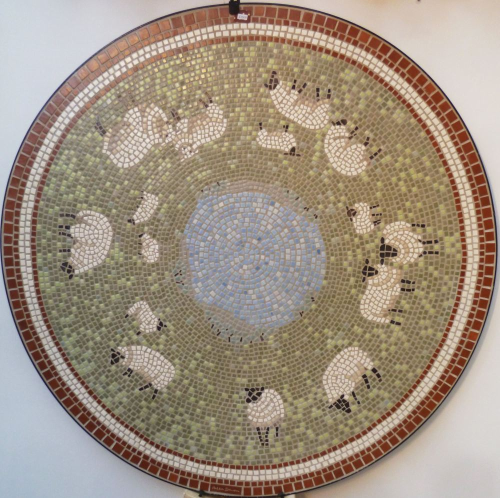 Large Sheep Mosaic