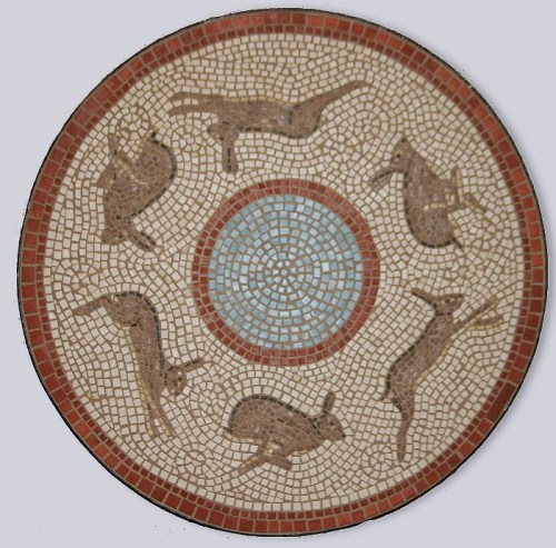 Running Hare Mosaic
