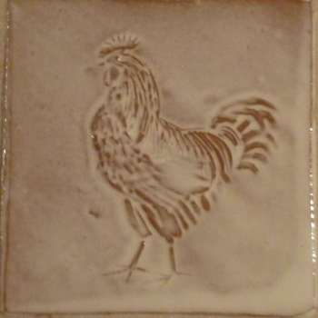 cockerel tile