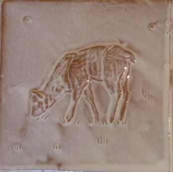 grazing lamb tile