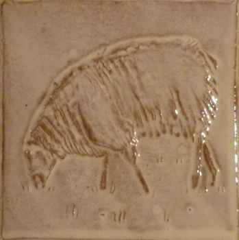 Grazing Sheep tile