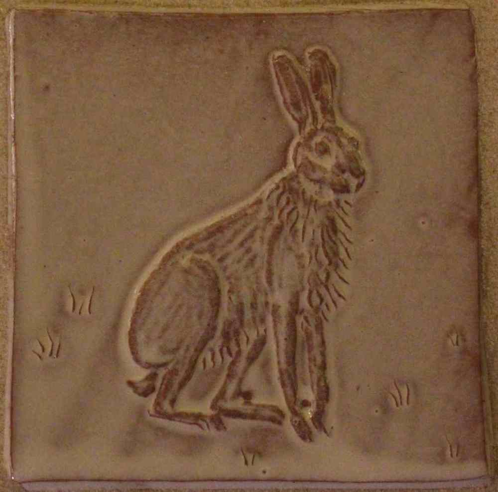 Sitting Hare tile