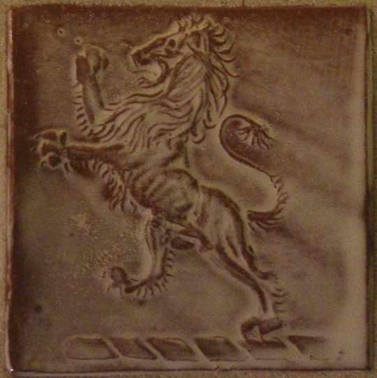 heraldic lion a