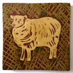 slip-trailed sheep tile