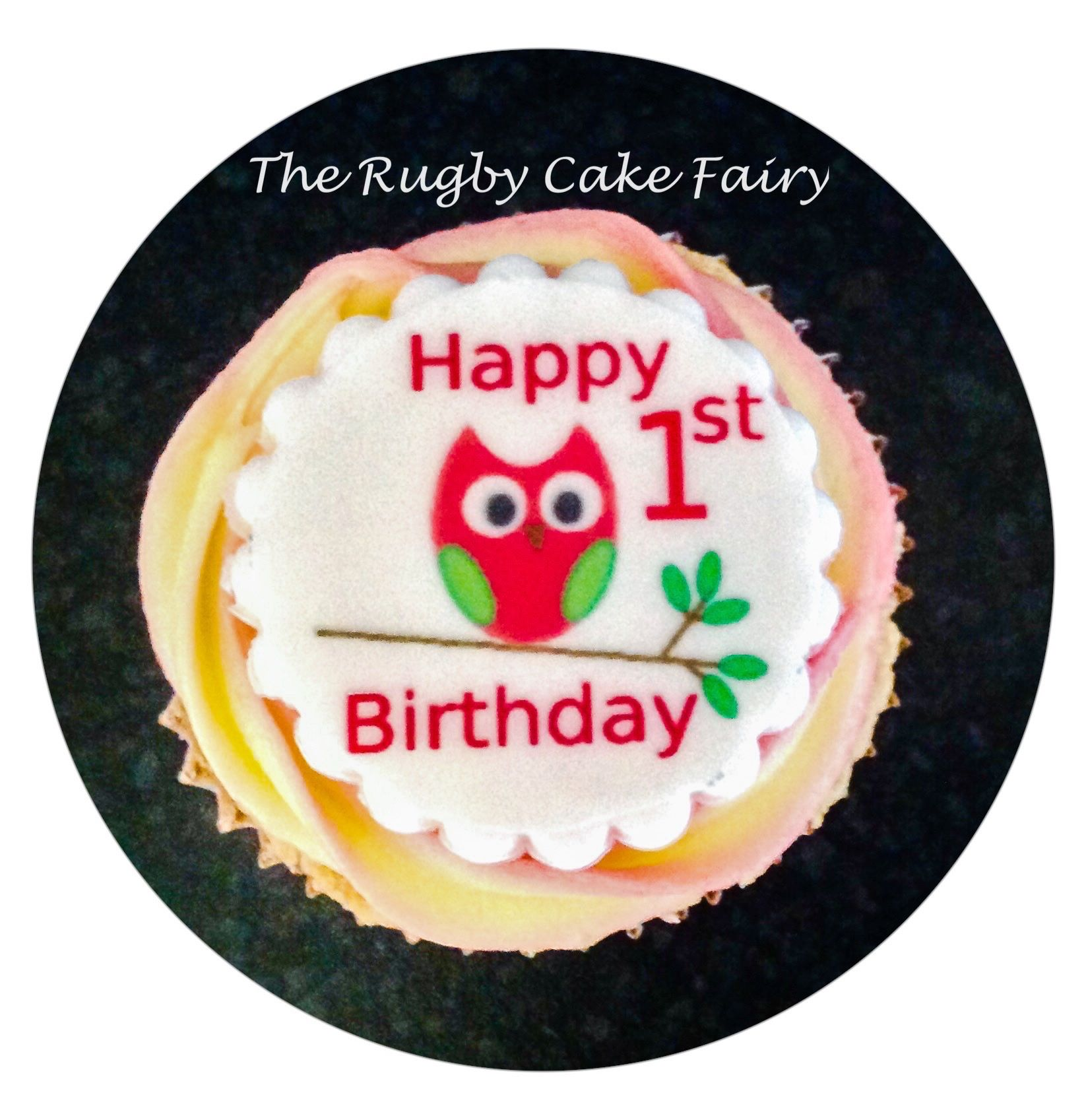1st birthday owl 1